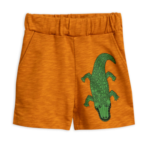 crocco sp sweatshorts-brown