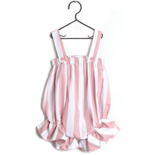 Jumpsuit Regina-pink stripes