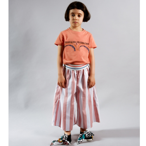 Trousers Elsa-pink stripes
