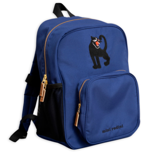panther school bag-blue