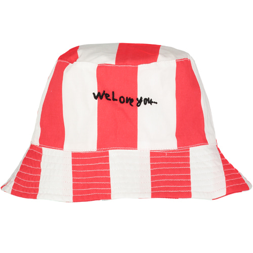 bucket hat-et/deck chair stripe