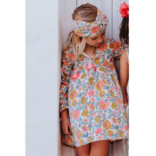 Dress Hola-multi flowers
