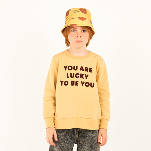 [tinycottons]you are lucky sweatshirts
