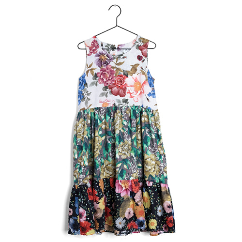 dress placida-flowers