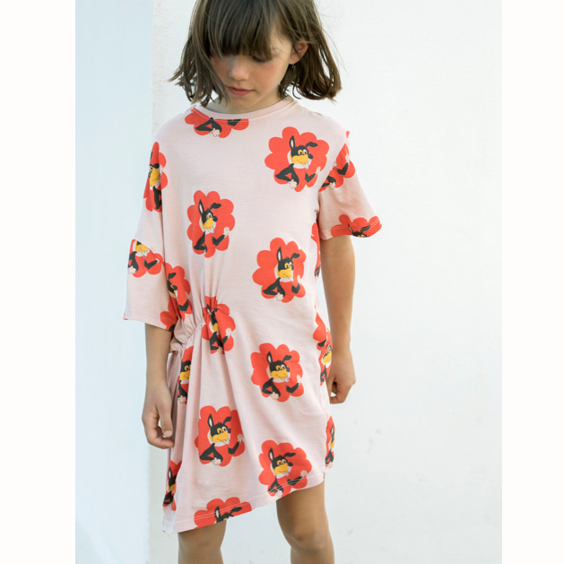 [FRESH DINOSAURS]dress flower power print-40%(10Y)