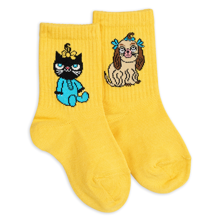 [mini rodini]minibaby socks-yellow