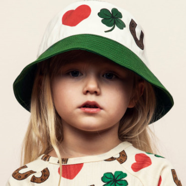 [mini rodini]clover bucket hat-30%