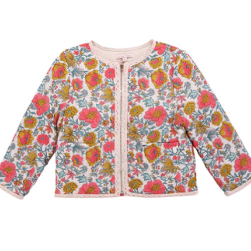 Jacket Paruru-multi flowers