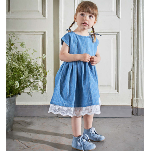 Marlene Dress-blue