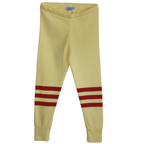 [Bandy Button]usi yellow leggings