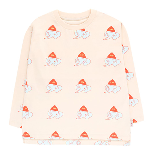 [tinycottons]luckyphant ls tee-lc/lm
