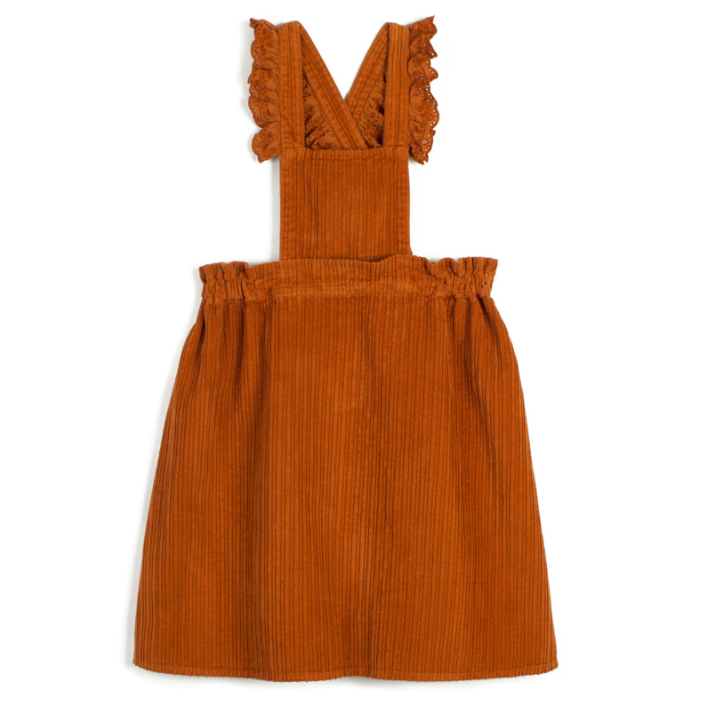 dress carmen-c.orange