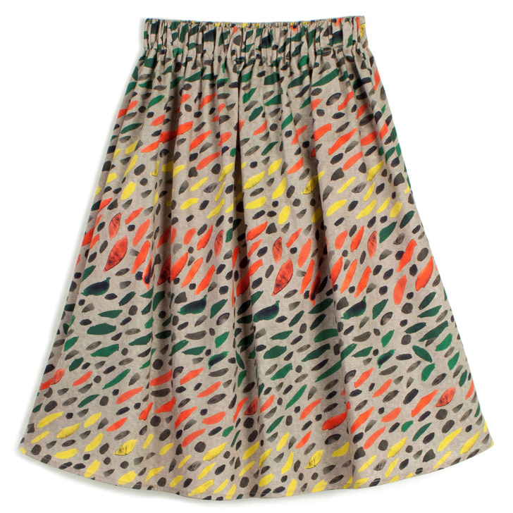 skirt lurdes-w.grass-50%