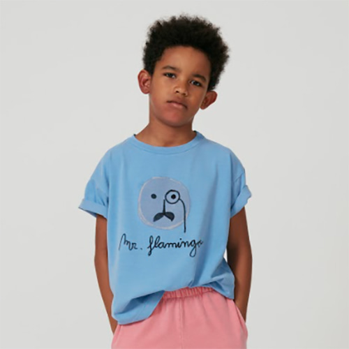 [Weekend House Kids]Flamingo t-shirt-pb