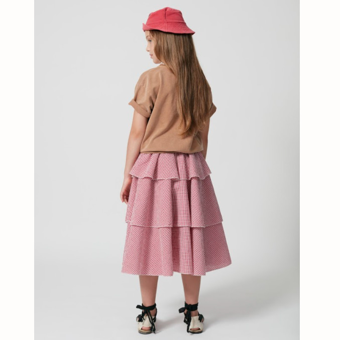 [Weekend House Kids]Bohemian Skirt-r&w