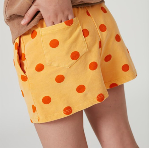[Weekend House Kids]Dots Shorts-orange