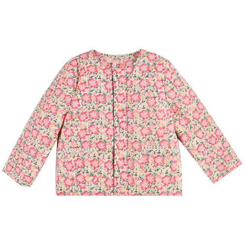 [Louise Misha]Jacket Soluta-pink meadow