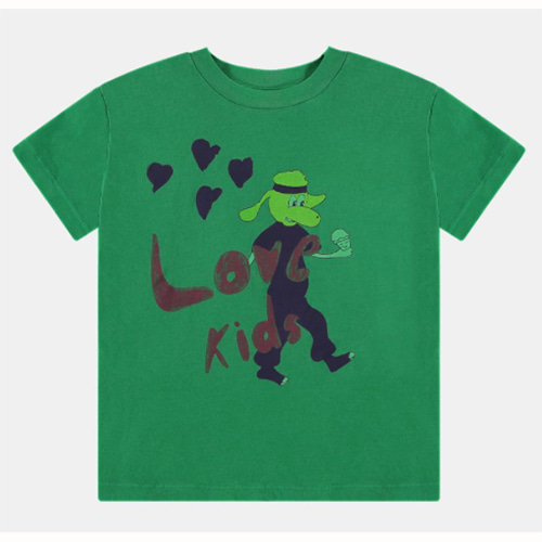 [Fresh Dinosaurs]Love Kids t-shirt