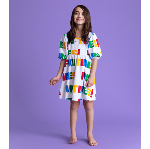 [HUGO LOVES TIKI]Terry Puff Dress-fun times